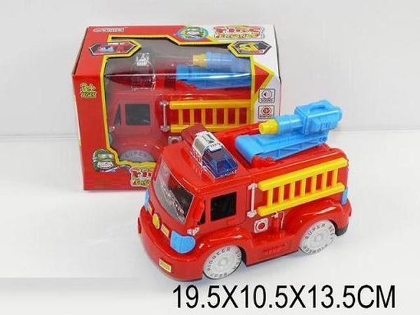 Муз.пожарная машина 2014A (932899) (72шт/2) батар., свет, в кор. 19,5*10,5*13,5см   Артикул: 05002014