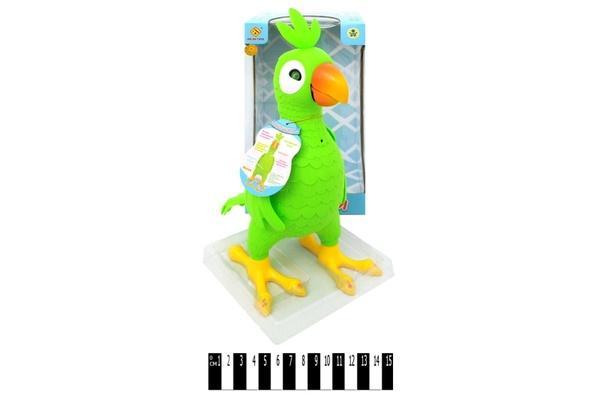 """Розв. інтеракт. іграшка """"Папуга""""  рос. мова DB4886А р.21,5х11,5х17 см.   Артикул: 05004886"""