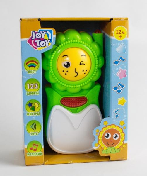 Муз.телефон 7306 (96шт/2) батар,фигуры,цвета,цифры в кор. 16*13*6см   Артикул: 05007306