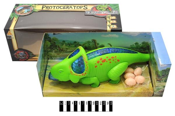 Динозавр   муз. 60075  (коробка ) р.36,5х15х13,5см.   Артикул: 05221075