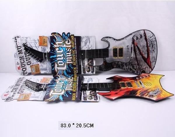 Гитара ZK88001A-12 (60шт/2) на планшетке 83*20,5см   Артикул: 05800112