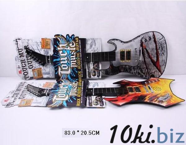 Гитара ZK88001A-12 (60шт/2) на планшетке 83*20,5см   Артикул: 05800112 Музыкальные игрушки  в Украине