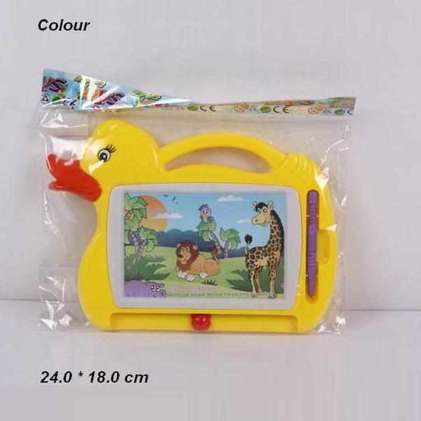 """Доска для рисования 855 (192шт/2)""""Животные"""" цвет. в пакете 24*18 см   Артикул: 06000855"""
