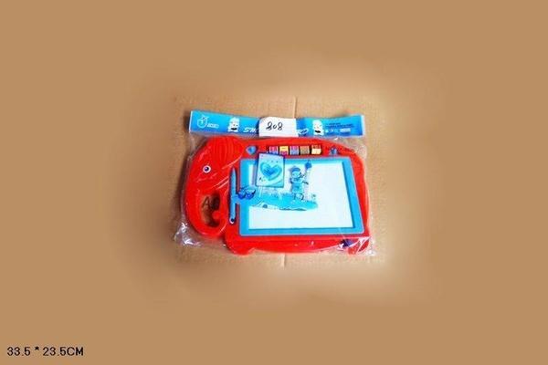 """Доска рисов CY-XZ808 (72шт/2) """"Слон""""  печати, палочка, в пакете 33,5*23,5см   Артикул: 06000808"""