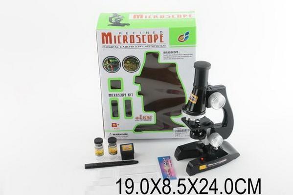 Микроскоп C2119 (1005586) (48шт/2) акссесуары в кор. 19*8,5*24см   Артикул: 06002119