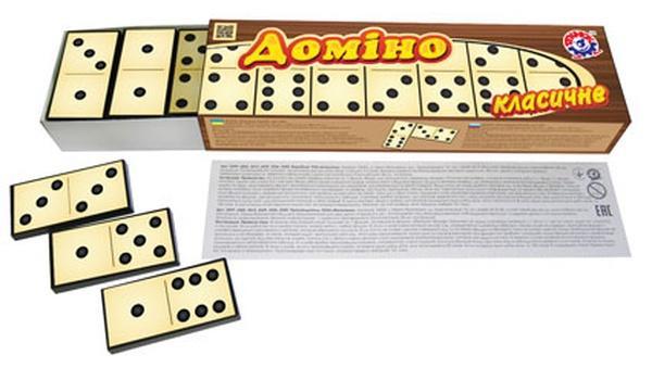 """Доміно """"Класичне ТехноК""""   Артикул: 06003343"""