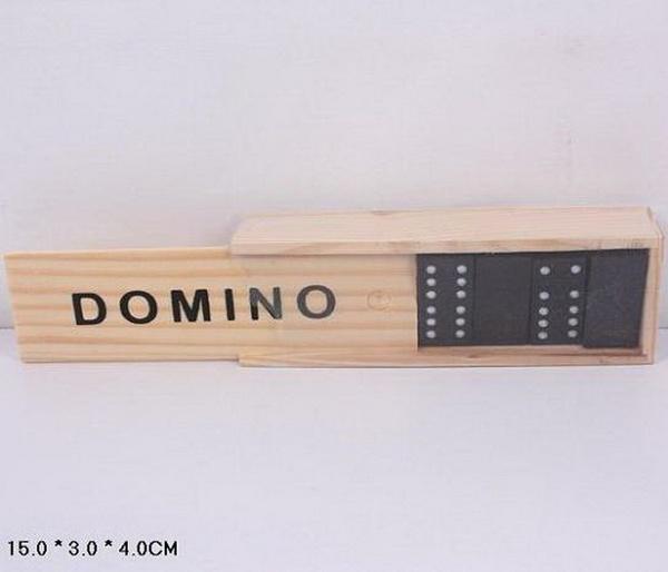 Домино B15623 (300шт) в деревянном футляре 15*3*4см   Артикул: 06015623
