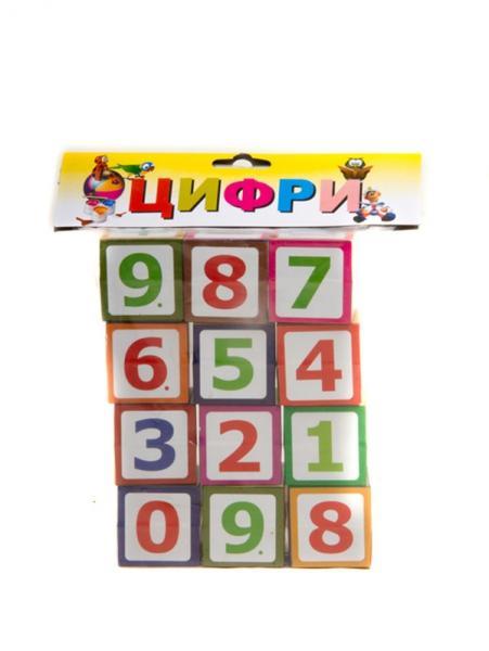 Іграшка Кубики Цифри  Т-1020м   1/   Артикул: 06021020