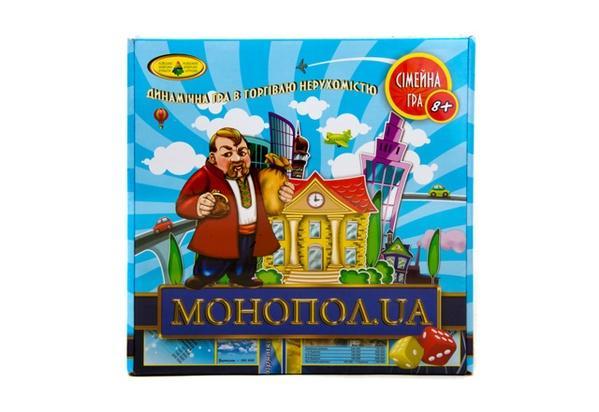 """Гра """"Монопол UA""""   Артикул: 06110041"""