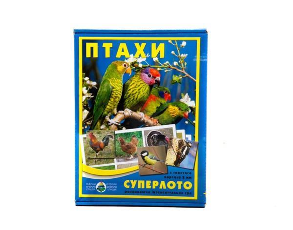 """Супер ЛОТО """"Птахи""""   Артикул: 06110091"""