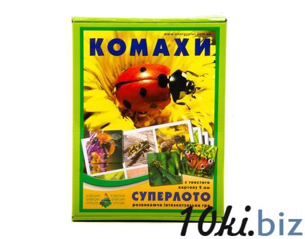 """Супер ЛОТО """"Комахи""""   Артикул: 06110090 Детское домино, лото в Украине"""
