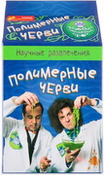 """Наукові  розваги """"Полімерні черв'яки""""   Артикул: 06112615"""