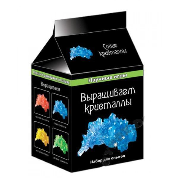 """Наукові ігри міні """"Вирощуємо кристали"""" (сині) 0338   Артикул: 06116010"""