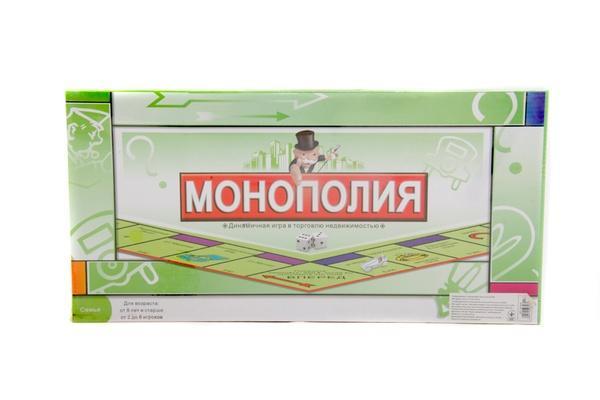 Настільна гра 2030R Монополія, ігрове поле, фішки, картки, кор., 43,5-22-3 см.   Артикул: 06222030