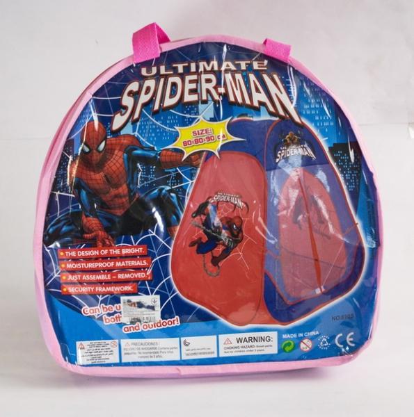 """Палатка 810S (24шт) """"Человек паук""""в сумке 90*80*80см   Артикул: 07000810"""