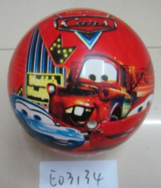 Мяч резин. E03134 (400шт) 6 видов, 9'' 75g   Артикул: 07003134