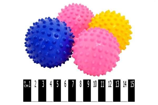 М`яч - їжак (4 в 1)  МА3.5-4 р.9х9см.   Артикул: 07004141