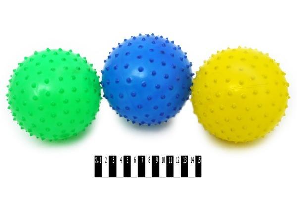 М`яч - їжак (3 в 1)  МА6-3А р.15х15 см.   Артикул: 07006363