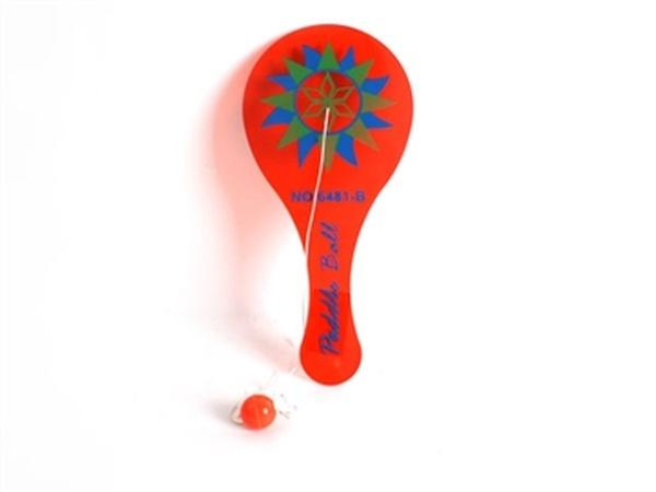 Ракетка JAMBO (арт. 6481-B) с мячиком на веревке,23x11x0.5cm   Артикул: 07006481