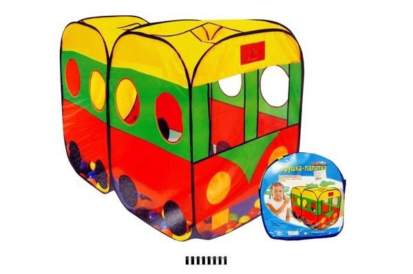 Палатка (автобус) 8027 р.140х73х196 см.   Артикул: 07008027