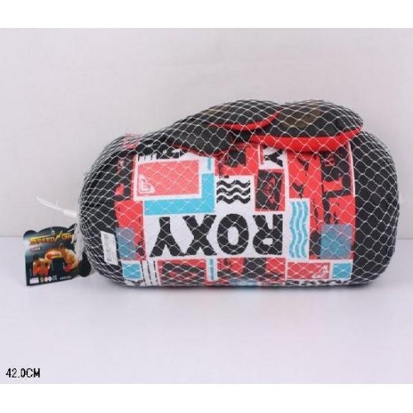 Боксерский набор 20112-27S (24шт) груша с перчатками, в сетке 42 см   Артикул: 07020112