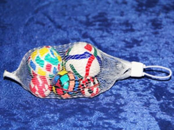 Мячи W02-3147 попрыгунчики набор 2*27мм, 35мм, 45мм, 50мм в сетке /300/   Артикул: 07023147