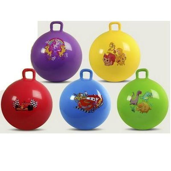 Мяч для фитнеса ND003 (50шт) гири 5видов,5цветов 55см 580г   Артикул: 07100003