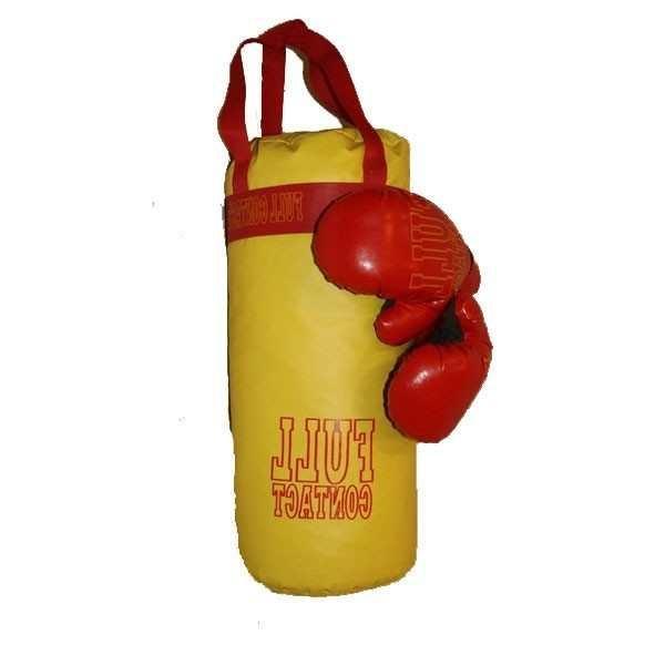 """Боксерский набор БОЛ """"Full"""" желтый   Артикул: 07300015"""