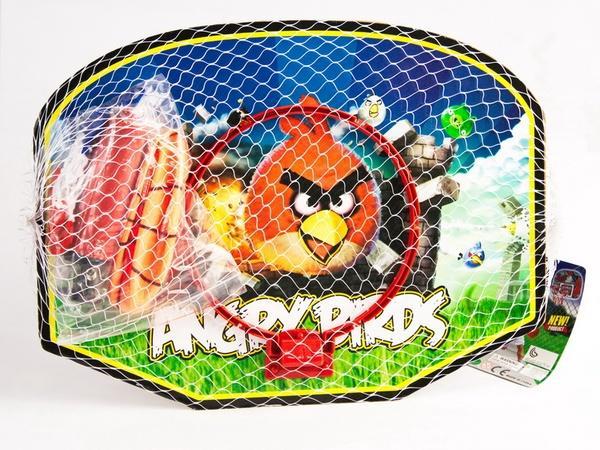 """Баскетбольный набор 661555-34 (84шт) """"Angry Birds"""" корзина с мячoм, в пакете 40*30см   Артикул: 07661555"""
