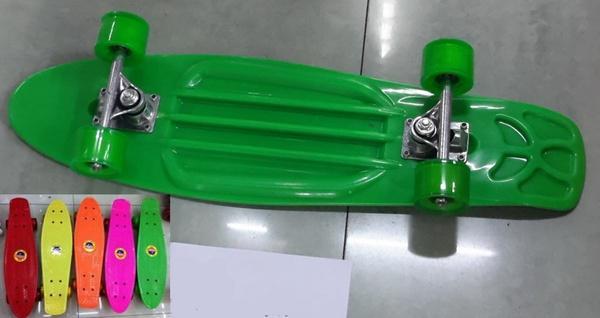 Скейт BT-YSB-0013 пластик.алюм.PVC колеса 6цв.68*19см 2кг ш.к./8/   Артикул: 07800013