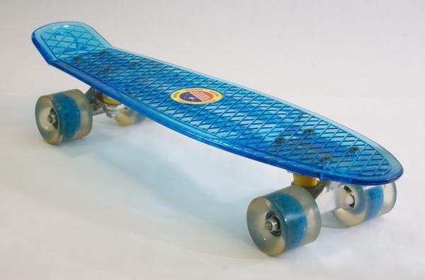 Скейт Penny board прозр.   Артикул: 07897991