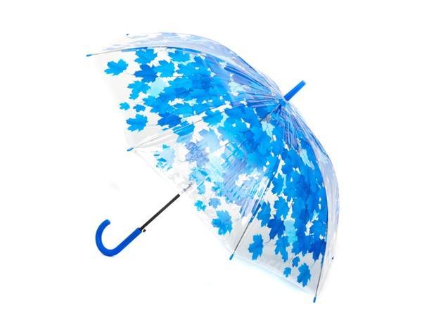 """Зонт """"Осень"""" E12808 (60шт/5) 4 цвета, прозрачная клеенка, в пак.73см   Артикул: 08012808"""