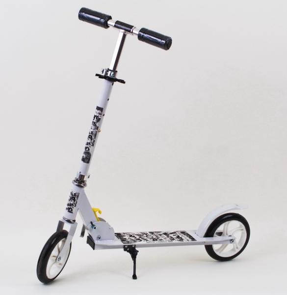 Самокат Folding Scooter, взрослый 2 колеса (бол.кол.), регулируется ручка   Артикул: 08110016