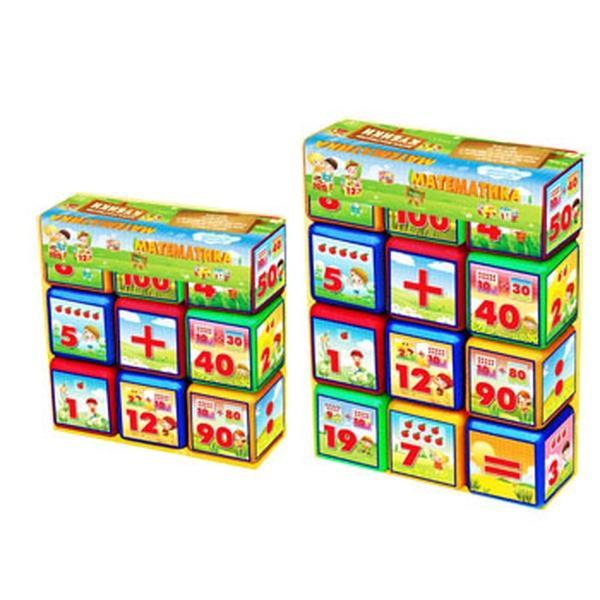 """Кубики 9"""" """"Абетка"""" МАЛ (24)   Артикул: 09000281"""