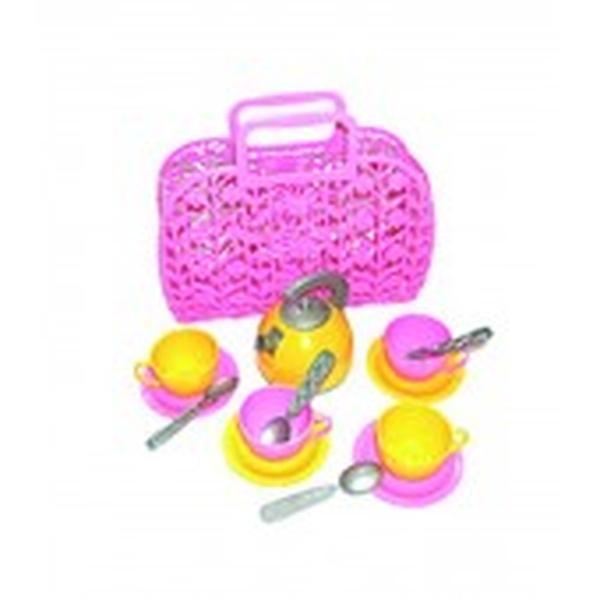 Іграшка «Кошичок з набором посуду ТехноК»   Артикул: 09001608