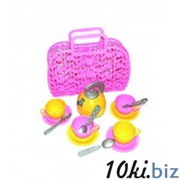 Іграшка «Кошичок з набором посуду ТехноК»   Артикул: 09001608 Игрушечная посудка в Украине