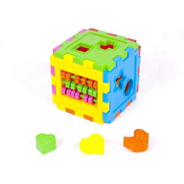Логический куб - сортер со счетами (18)   Артикул: 09050201