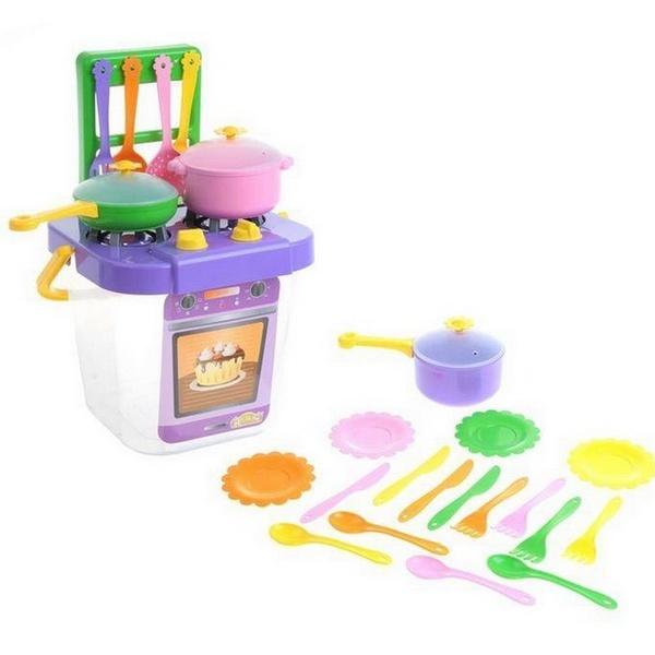 """Набір посуду столовий """"Ромашка"""" з плиткою 25 ел.   Артикул: 09391530"""