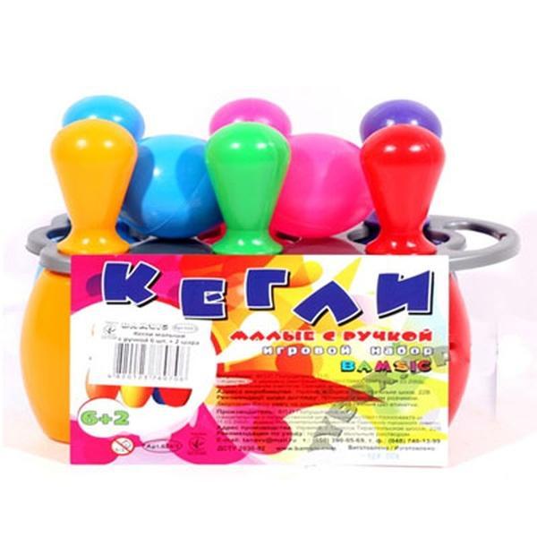 Кегли малютки 6+1 шарс ручкой №  (10)   Артикул: 09761369