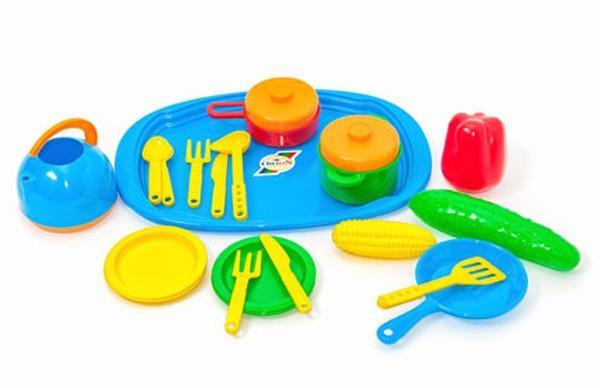 Поднос с набором посуды (28)   Артикул: 09902881