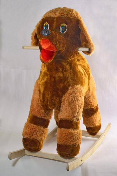 "Каталка ""Пудель"" (собака)   Артикул: 10000010"