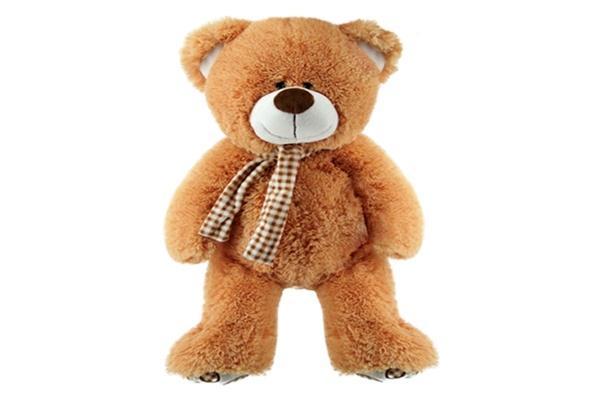 Ведмедик з шарфом рудий S-JY-3660\40SK 12шт/ящ   Артикул: 10003660