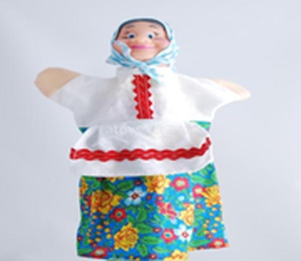"Лялька-рукавиця ""БАБКА"" (пластизоль, тканина)   Артикул: 10100071"