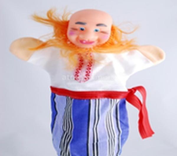 """Лялька-рукавиця """"ДІД"""" (пластизоль, тканина)   Артикул: 10100072"""