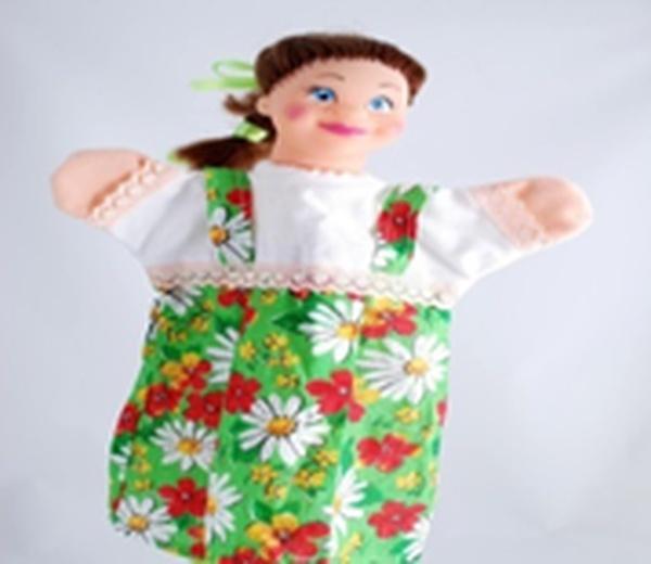 "Лялька-рукавиця ""МАША"" (пластизоль, тканина)   Артикул: 10100073"