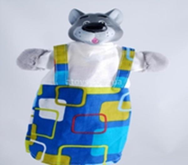 """Лялька-рукавиця """"ВОВК"""" (пластизоль, тканина)   Артикул: 10100076"""