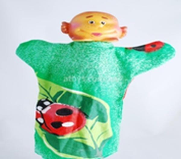 """Лялька-рукавиця """"КОЛОБОК"""" (пластизоль, тканина)   Артикул: 10100079"""