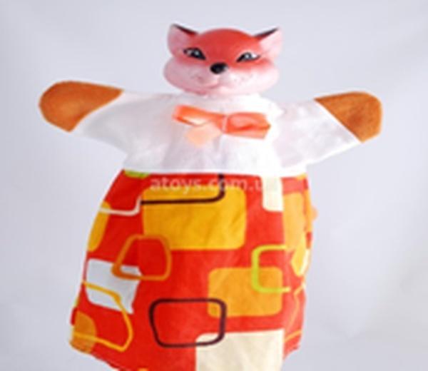 """Лялька-рукавиця """"ЛИСИЦЯ"""" (пластизоль, тканина)   Артикул: 10100078"""
