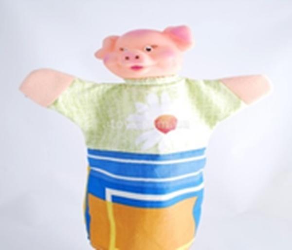 """Лялька-рукавиця """"ПОРОСЯ"""" (пластизоль, тканина)   Артикул: 10100080"""