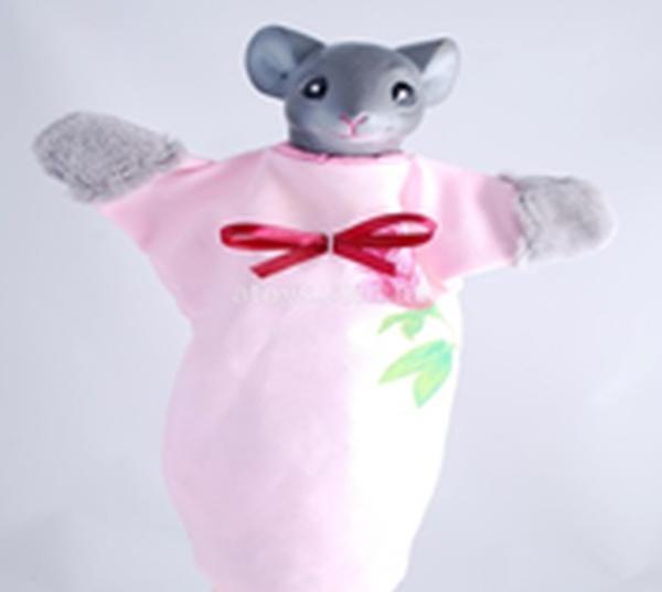 "Лялька-рукавиця ""МИШКА"" (пластизоль, тканина)   Артикул: 10100082"
